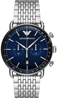 fashion наручные мужские часы Emporio armani AR11238. Коллекция Aviator