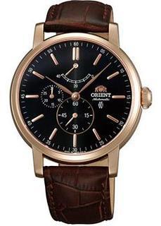 Японские наручные мужские часы Orient EZ09001B. Коллекция Classic Automatic