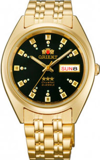 Японские наручные мужские часы Orient AB00001B. Коллекция Three Star