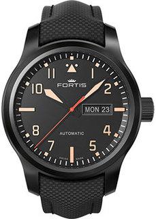 Швейцарские наручные мужские часы Fortis 655.18.18LP. Коллекция Aeromaster Stealth