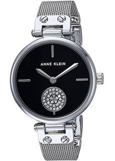 fashion наручные женские часы Anne Klein 3001BKSV. Коллекция Crystal
