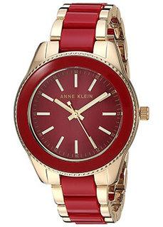 fashion наручные женские часы Anne Klein 3214RDGB. Коллекция Daily
