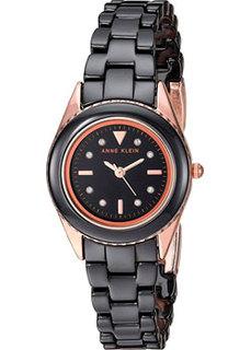 fashion наручные женские часы Anne Klein 3164BKRG. Коллекция Ceramics