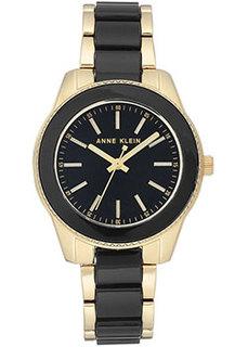 fashion наручные женские часы Anne Klein 3214BKGB. Коллекция Plastic