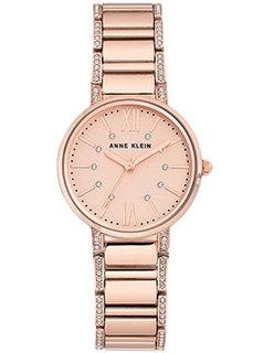 fashion наручные женские часы Anne Klein 3200RGRG. Коллекция Crystal