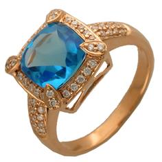 Золотое кольцо 95K611203 Ювелирное изделие