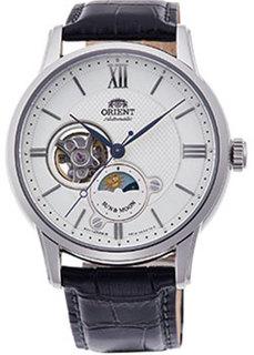 Японские наручные мужские часы Orient RA-AS0005S10B. Коллекция Classic Automatic