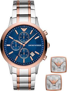 fashion наручные мужские часы Emporio armani AR80025. Коллекция Renato