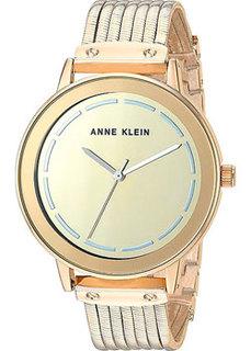 fashion наручные женские часы Anne Klein 3222GMGB. Коллекция Dress