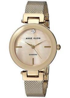 fashion наручные женские часы Anne Klein 2472TMGB. Коллекция Diamond