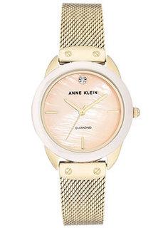 fashion наручные женские часы Anne Klein 3258LPGB. Коллекция Diamond