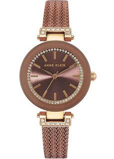 fashion наручные женские часы Anne Klein 1907BNTT. Коллекция Crystal