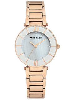 fashion наручные женские часы Anne Klein 3198LGRG. Коллекция Crystal