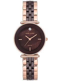 fashion наручные женские часы Anne Klein 3158BNRG. Коллекция Diamond