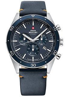 Швейцарские наручные мужские часы Swiss military SM34079.05. Коллекция Кварцевые хронографы