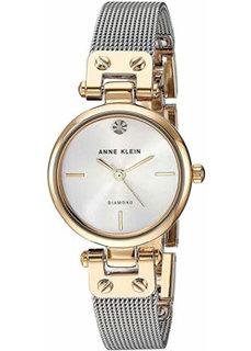 fashion наручные женские часы Anne Klein 3003SVTT. Коллекция Diamond