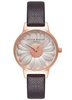 fashion наручные женские часы Olivia Burton OB16FS97. Коллекция 3D Daisy