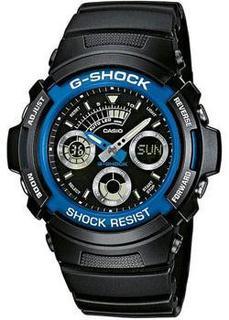 Японские наручные мужские часы Casio AW-591-2A. Коллекция G-Shock