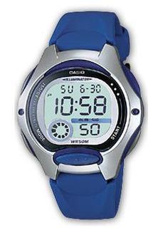 Японские наручные женские часы Casio LW-200-2A. Коллекция Digital