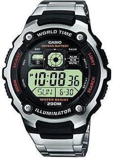 Японские наручные мужские часы Casio AE-2000WD-1A. Коллекция Digital