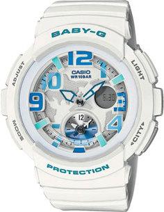 Японские наручные женские часы Casio BGA-190-7B. Коллекция Baby-G