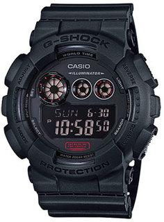 Японские наручные мужские часы Casio GD-120MB-1E. Коллекция G-Shock