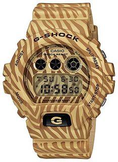 Японские наручные мужские часы Casio DW-6900ZB-9E. Коллекция G-Shock