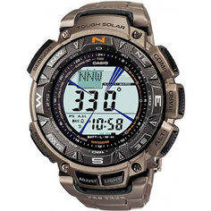 Японские наручные мужские часы Casio PRG-240T-7E. Коллекция Pro-Trek