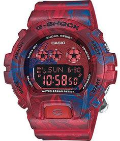 Японские наручные мужские часы Casio GMD-S6900F-4E. Коллекция G-Shock