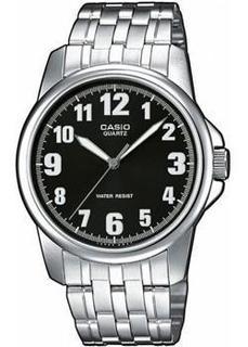 Японские наручные мужские часы Casio MTP-1260PD-1B. Коллекция Analog