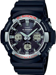 Японские наручные мужские часы Casio GAW-100-1A. Коллекция G-Shock
