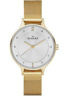 Швейцарские наручные женские часы Skagen SKW2150. Коллекция Mesh
