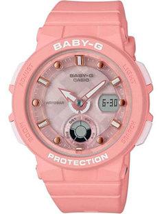 Японские наручные женские часы Casio BGA-250-4A. Коллекция Baby-G