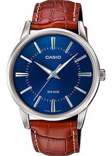 Японские наручные мужские часы Casio MTP-1303PL-2AVEF. Коллекция Analog