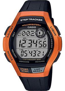 Японские наручные мужские часы Casio WS-2000H-4AVEF. Коллекция Digital