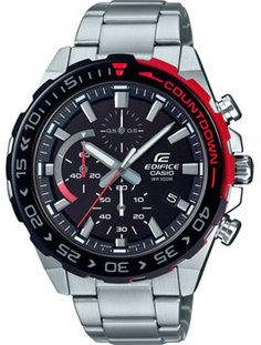 Японские наручные мужские часы Casio EFR-566DB-1AVUEF. Коллекция Edifice
