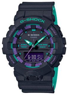 Японские наручные мужские часы Casio GA-800BL-1AER. Коллекция G-Shock