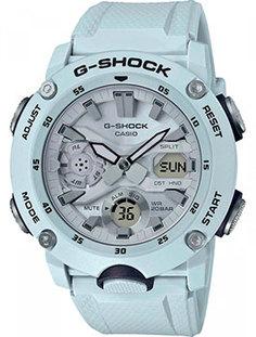 Японские наручные мужские часы Casio GA-2000S-7AER. Коллекция G-Shock
