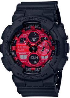 Японские наручные мужские часы Casio GA-140AR-1AER. Коллекция G-Shock