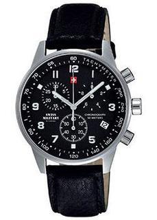 Швейцарские наручные мужские часы Swiss military SM34012.05. Коллекция Кварцевые хронографы