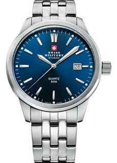 Швейцарские наручные мужские часы Swiss military SMP36009.03. Коллекция Classic