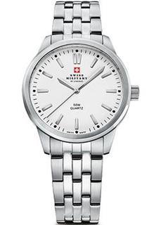 Швейцарские наручные женские часы Swiss military SMP36010.02. Коллекция Кварцевые часы