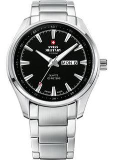 Швейцарские наручные мужские часы Swiss military SM34027.01. Коллекция Кварцевые часы