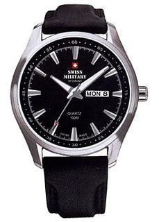 Швейцарские наручные мужские часы Swiss military SM34027.05. Коллекция Day Date