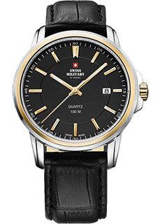 Швейцарские наручные мужские часы Swiss military SM34039.10. Коллекция Кварцевые часы