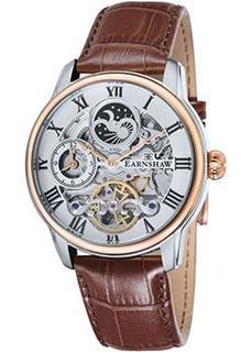 мужские часы Earnshaw ES-8006-03. Коллекция Longitude