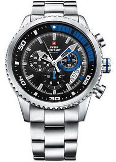 Швейцарские наручные мужские часы Swiss military SM34042.04. Коллекция Sports