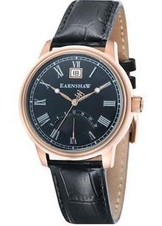 мужские часы Earnshaw ES-8033-05. Коллекция Cornwall