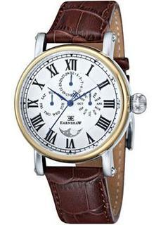 мужские часы Earnshaw ES-8031-02. Коллекция Maskelyne