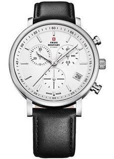 Швейцарские наручные мужские часы Swiss military SM34058.05. Коллекция Кварцевые хронографы